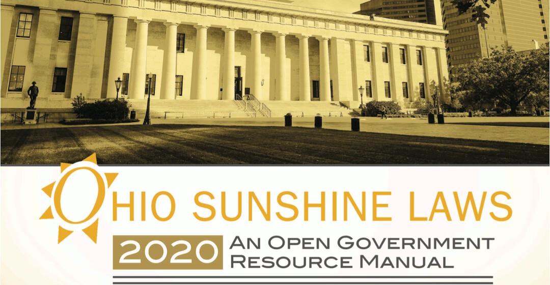 Ohio Sunshine Manual